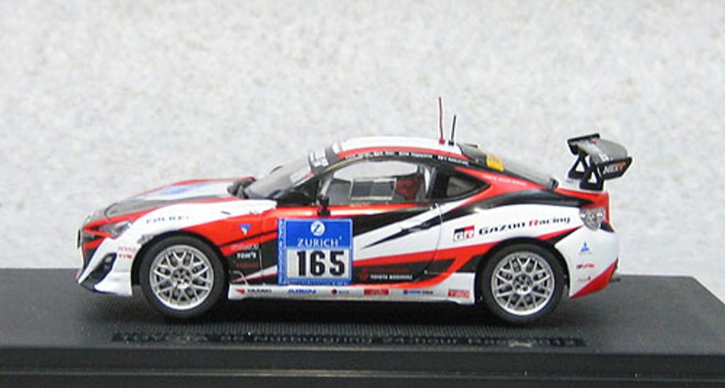 Ebbro 44899 Toyota 86 Nurburgring 24 hour Race 2012 #165 1/43 Scale