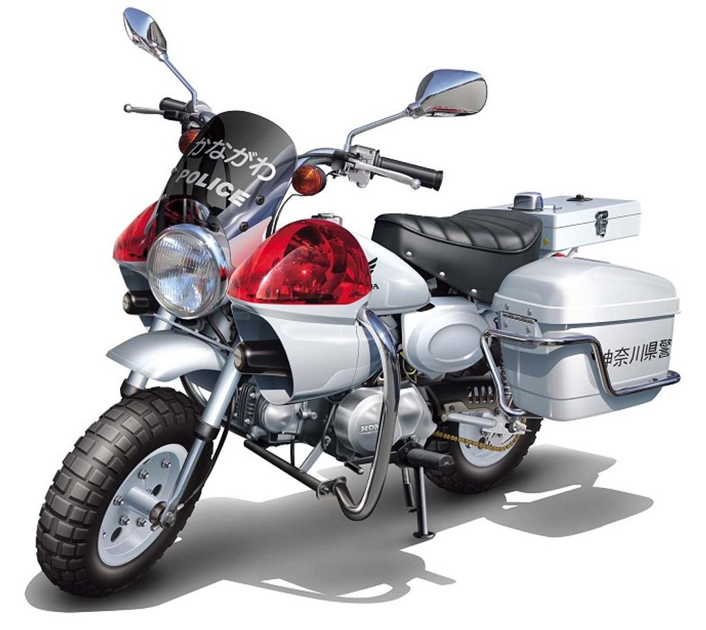 Fujimi Bike-15 Honda Monkey Police Motorcycle 1/12 Scale Kit
