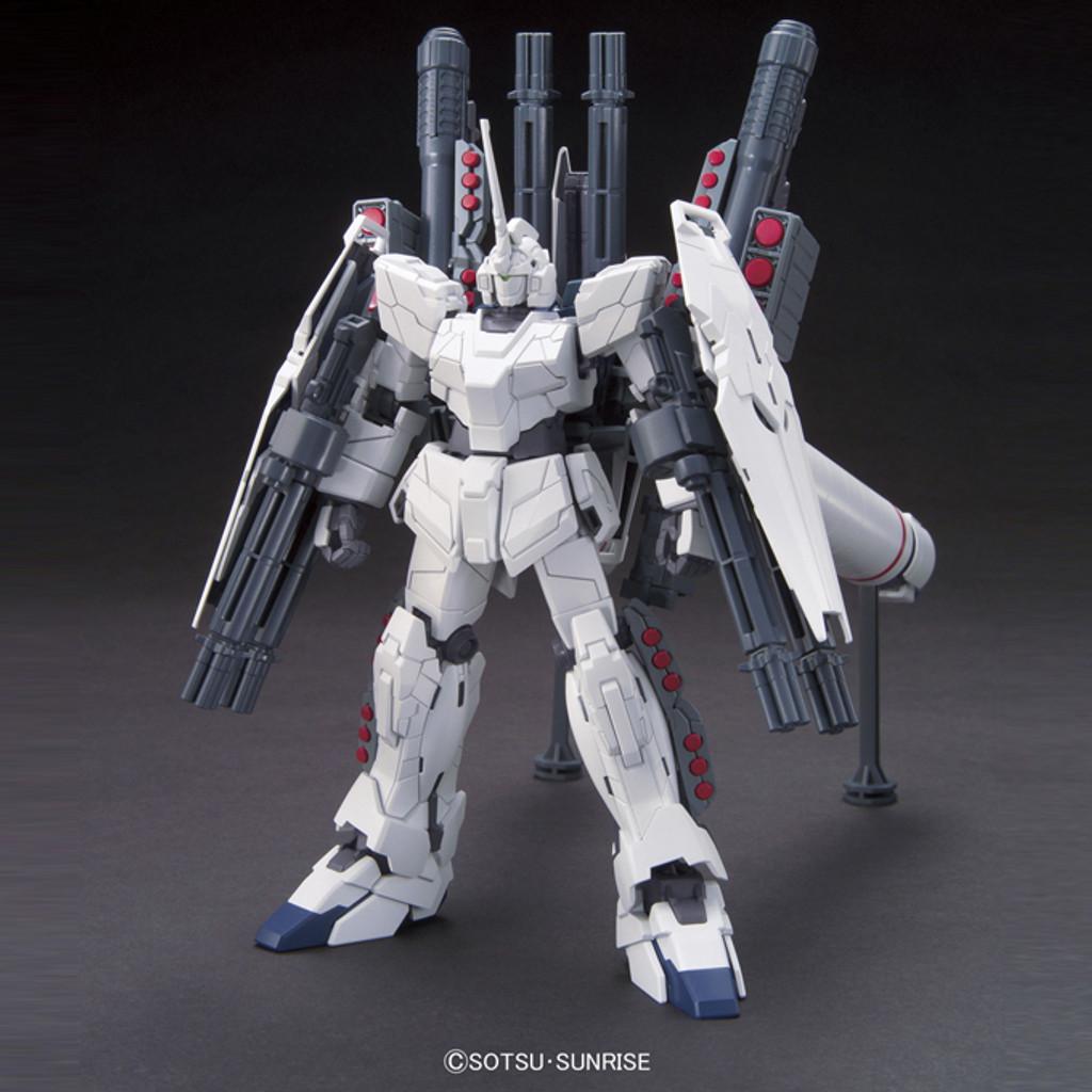 Bandai HGUC 156 RX-0 FULL ARMOR UNICORN Gundam (UNICORN MODE) 1/144 Scale Kit