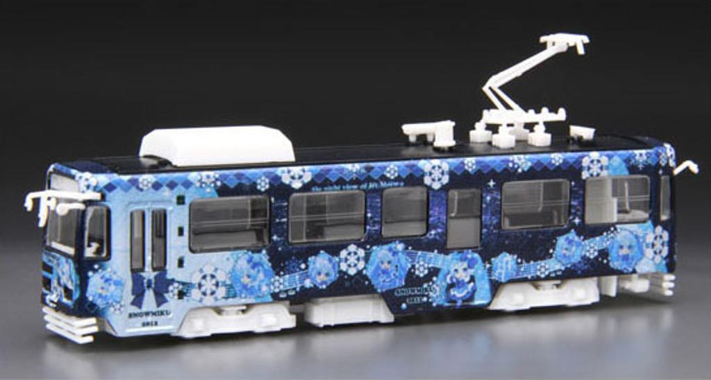 Fujimi 910048 Snow Miku 2012 Sapporo Railway Type 3300 1/150 Scale Kit