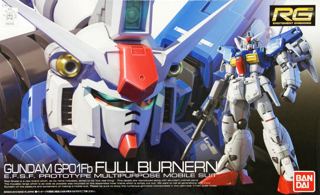 Bandai RG 13 RX-78GP01 Fb Prototype Gundam GP01Fb Full Burnern 1/144 Scale Kit