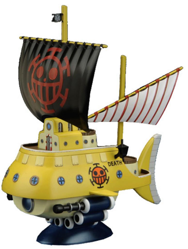 Bandai One Piece Grand Ship Collection 02 Trafalgar-Law's Submarine (Plastic Model Kit)