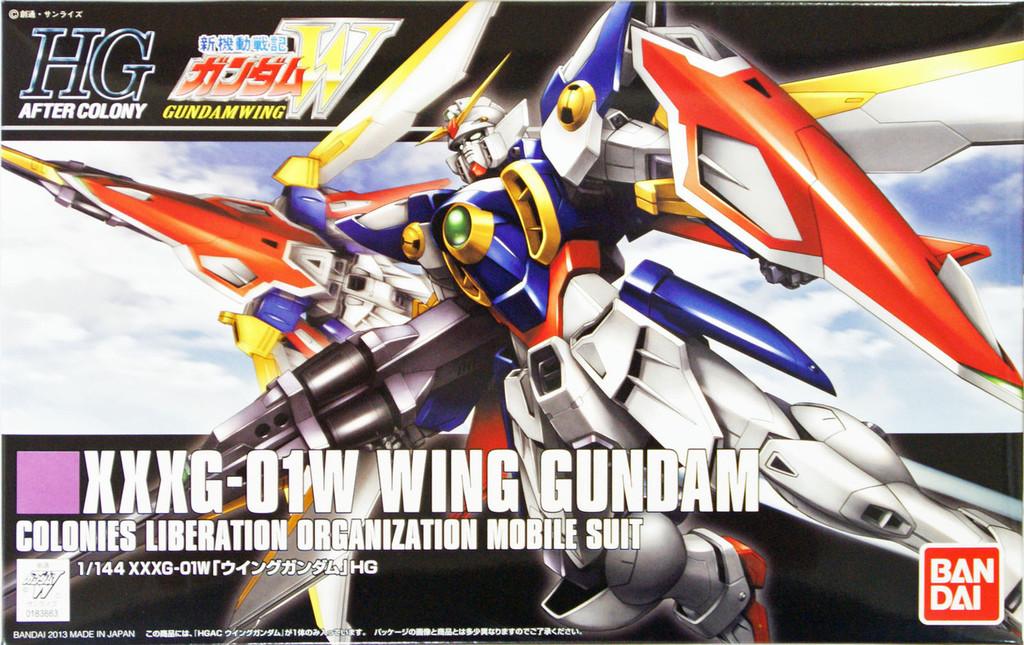 Bandai HGUC 162 Gundam XXXG-01W WING GUMDAM 1/144 Scale Kit