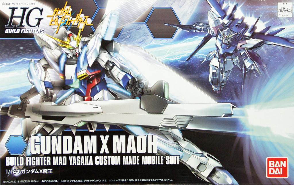 Bandai HG Build Fighters 003 Gundam X MAOH 1/144 Scale Kit
