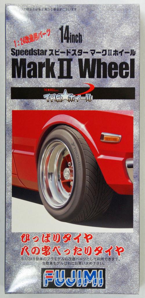 Fujimi TW70 Speedstar Mark II Wheel & Tire 14 inch 1/24 Scale Kit
