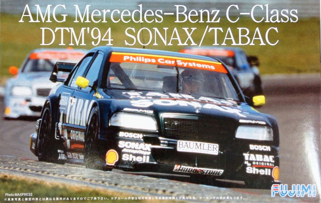 Fujimi TCSP-2 AMG Mercedes-Benz C-Class DTM 1994 SONAX / TABAC 1/24 Scale Kit