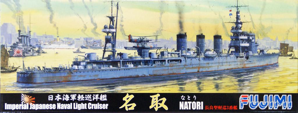 Fujimi TOKU-101 IJN Imperial Japanese Naval Light Cruiser Natori 1/700 Scale Kit