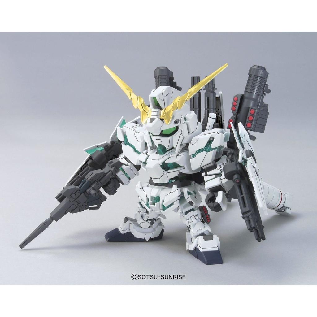 Bandai SD BB 390 Gundam RX-0 Full Armor Unicorn Gundam Plastic Model Kit