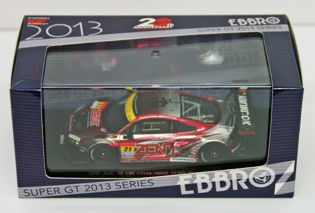 Ebbro 44931 Zent Audi R8 LMS ultra super GT300 2013 (Resin Model) 1/43 Scale