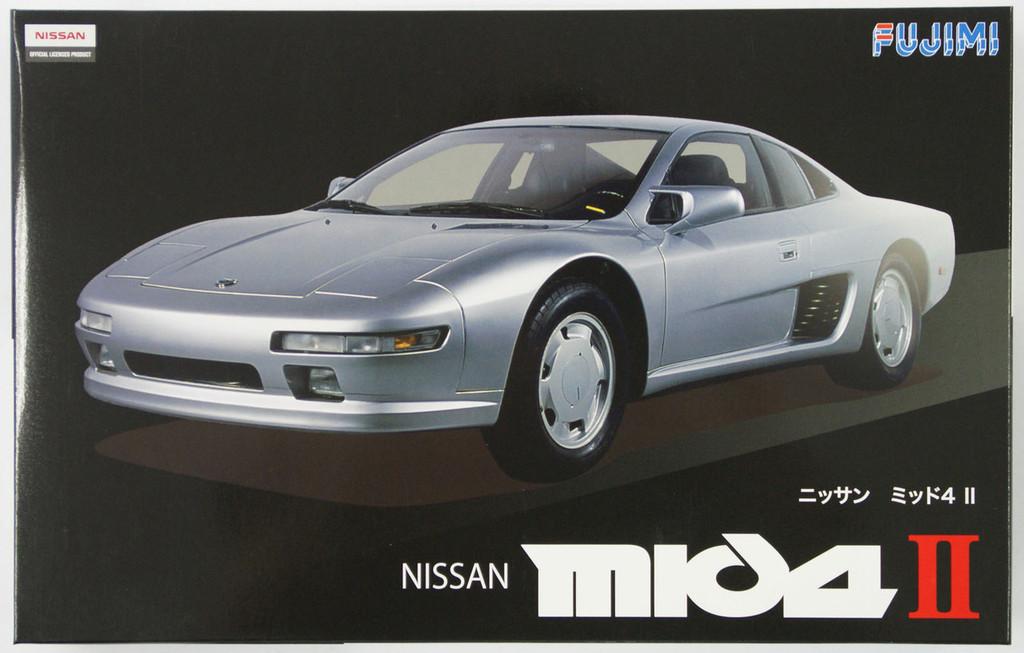 Fujimi ID-65 Nissan MID4 II 1/24 Scale Kit 039046