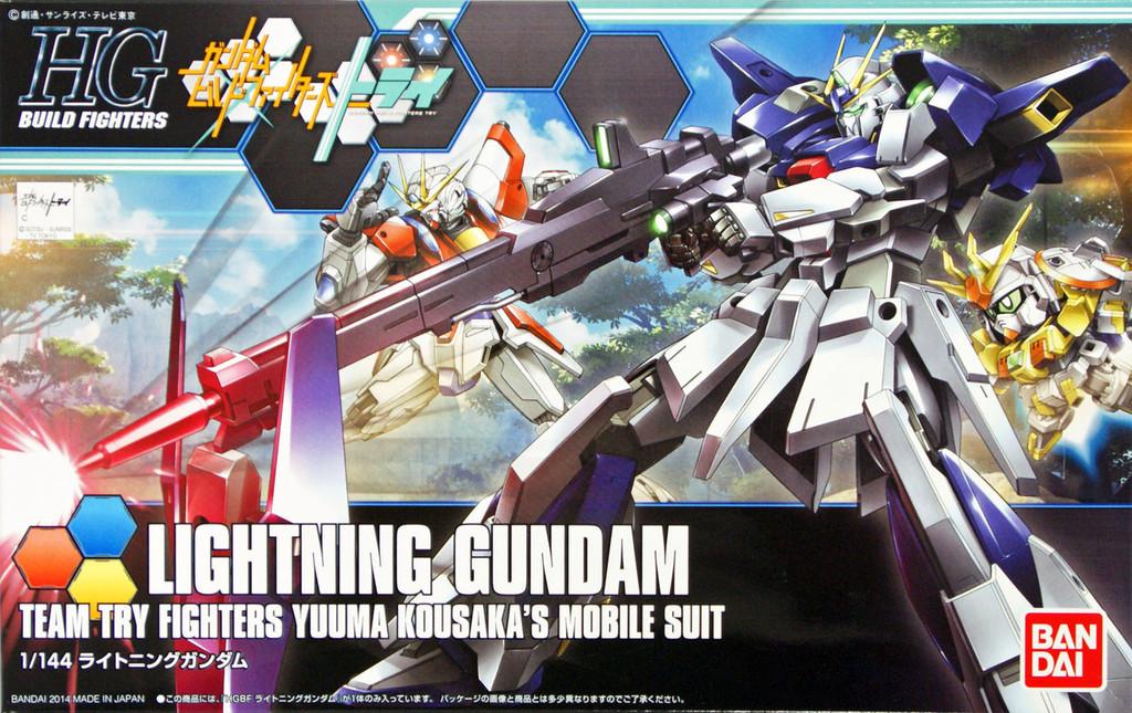 Bandai HG Build Fighters 020 LIGHTNING Gundam 1/144 Scale Kit
