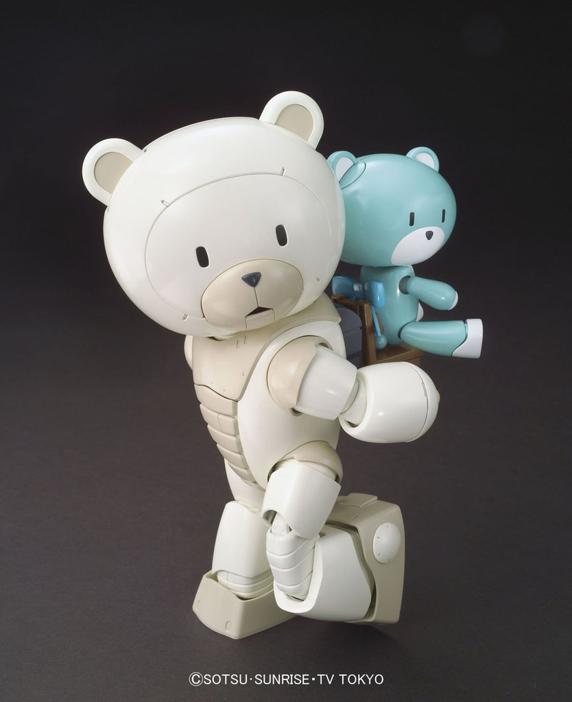 Bandai HG Build Fighters 022 BEARGGUY F (Family) 1/144 Scale Kit