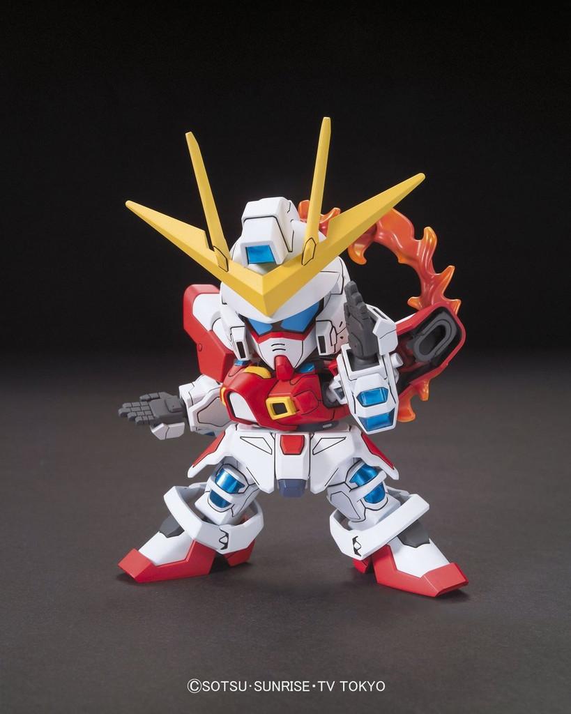 Bandai SD BB 396 Gundam Build Burning Gundam Plastic Model Kit