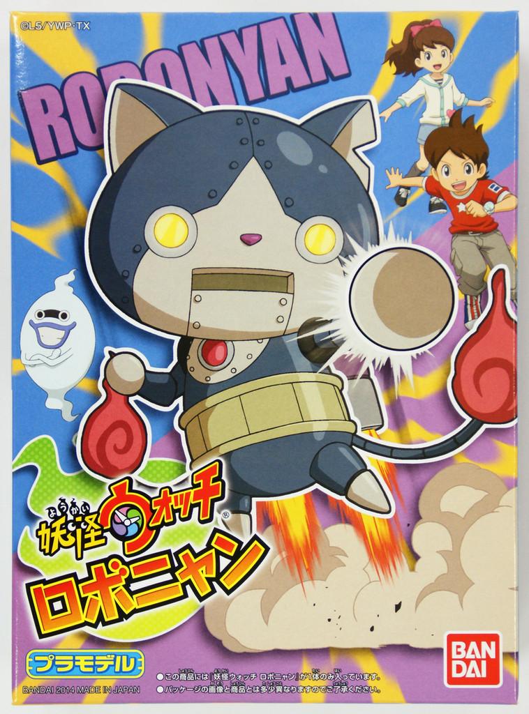Bandai Yo-Kai Watch 02 Robonyan Plastic Model Kit