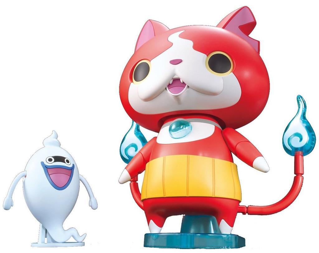 Bandai Yo-Kai Watch 938305 BIGLY! Jibanyan Plastic Model Kit