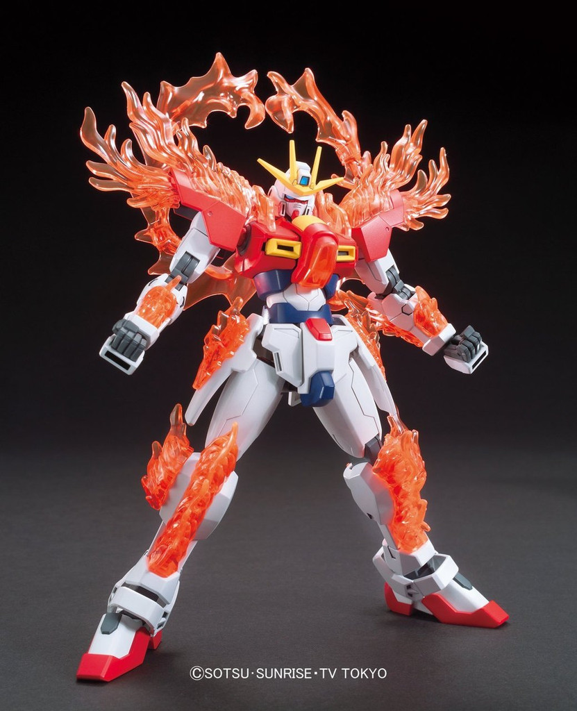 Bandai HG Build Fighters 028 TRY BURNING Gundam 1/144 Scale Kit