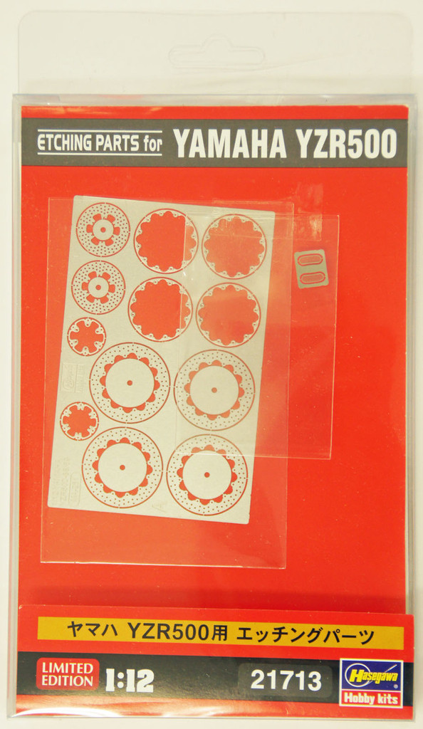 Hasegawa 21713 Etching Parts for Yamaha YZR500 1/12 Scale