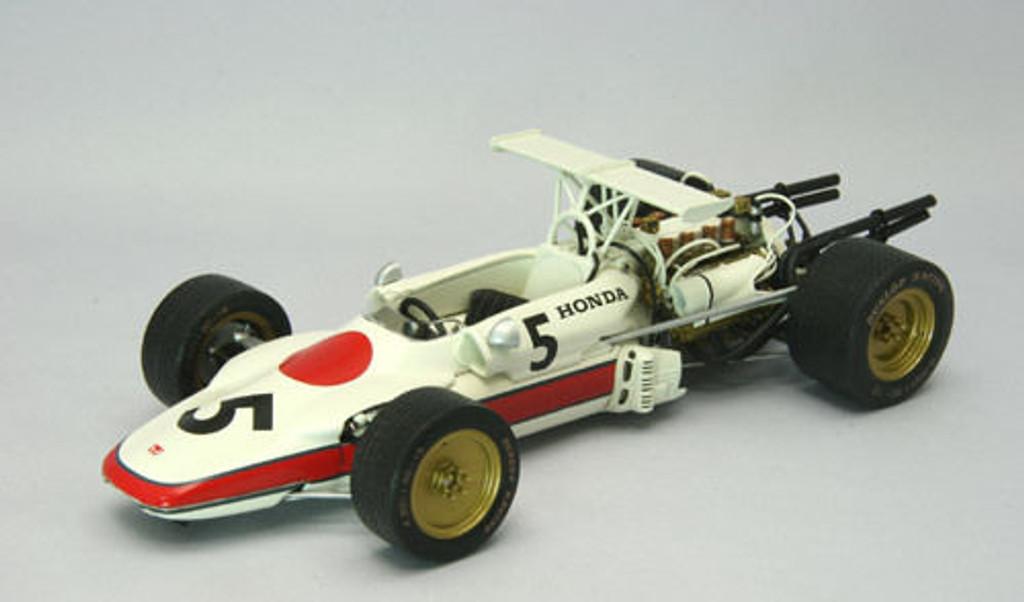 Ebbro 22008 Honda F-1 RA302 #5 1968 Tokyo Motor Show 1/20 Scale