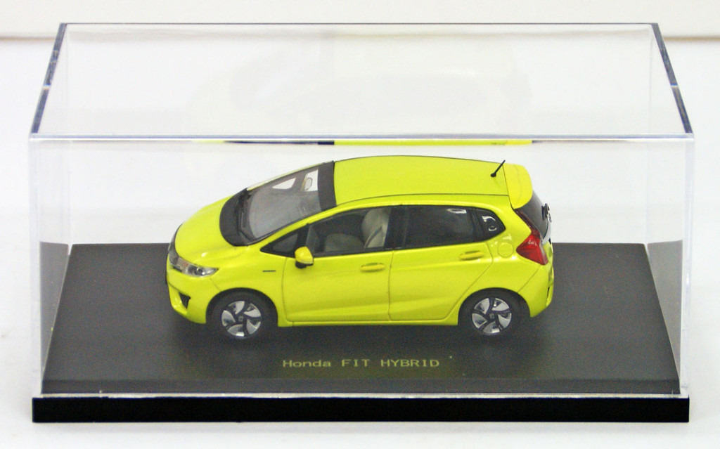 Ebbro 45141 HONDA FIT 3 HYBRID Attract Yellow Pearl 1/43 Scale