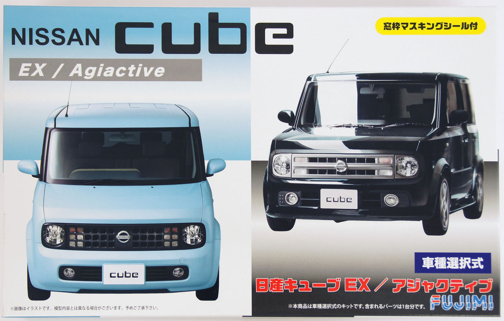 Fujimi ID-66 Nissan Cube EX / Agiactive 1/24 Scale Convertible Kit 039374