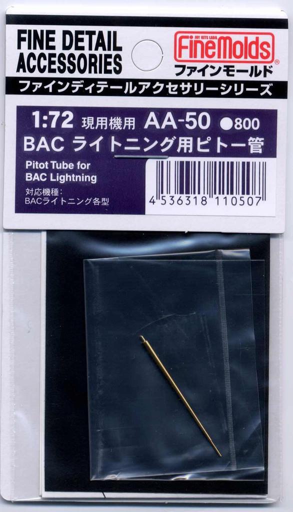 Fine Molds AA50 Pitot Tube for BAC Lightning 1/72 Scale Kit