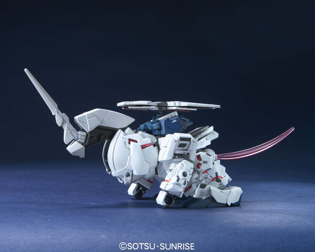 Bandai SD BB 360 Gundam Unicorn Gundam Plastic Model Kit