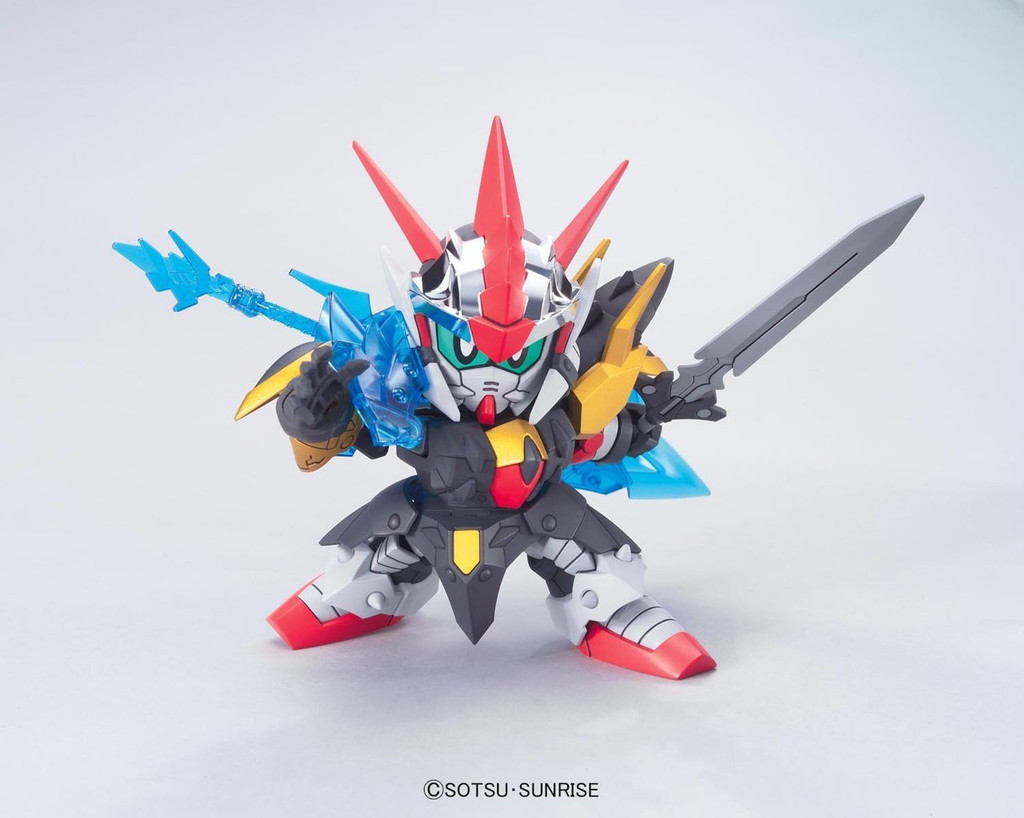 Bandai SD BB 378 Gundam Zero Gundam Plastic Model Kit