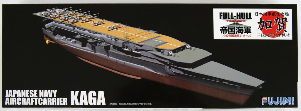 Fujimi FH-33 IJN Japanese Navy Aircraftcarrier KAGA (Full Hull) 1/700 Scale Kit