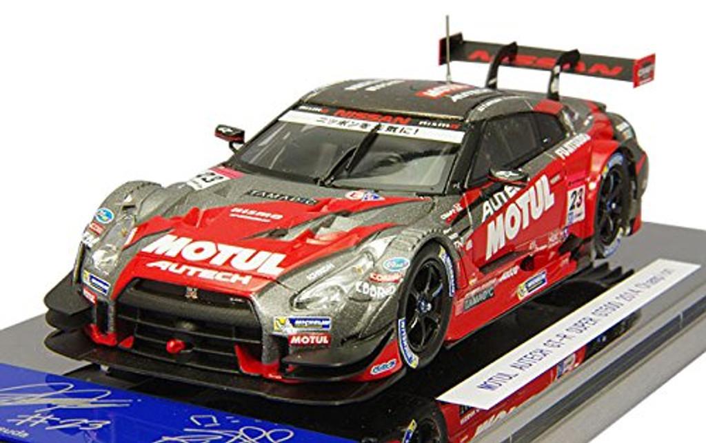 Ebbro 45107 Motul Autech GT-R SUPER GT500 No.23 Champion Car Red 1/43 Scale