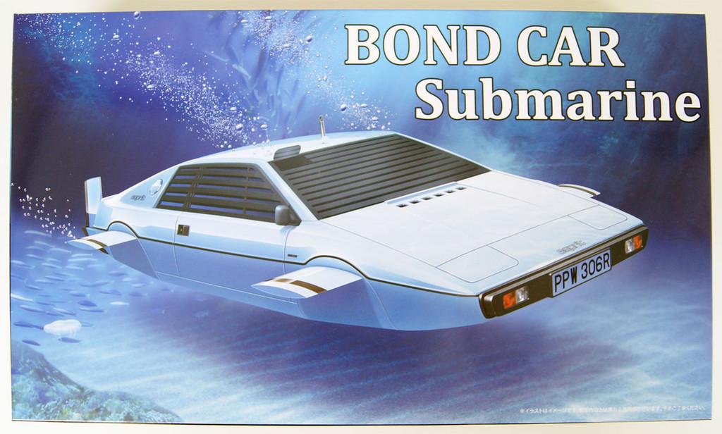 Fujimi 091921 007 BOND CAR Lotus Esprit 'Submarine Car' 1/24 Scale Kit