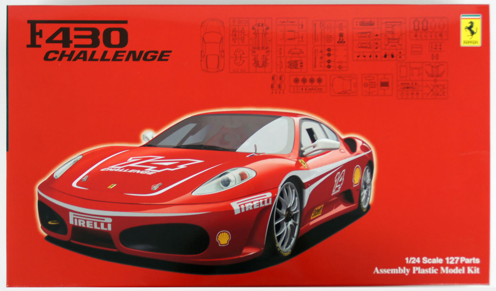 Fujimi RS-110 Ferrari F430 Challenge 1/24 Scale Kit