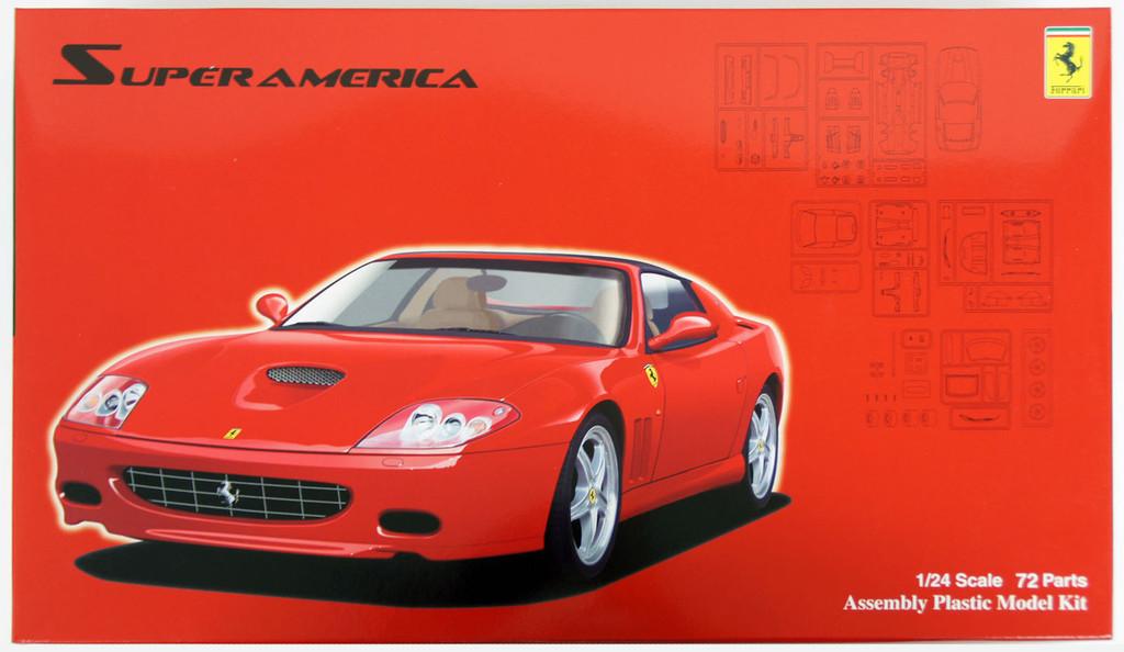 Fujimi RS-111 Ferrari Super America 1/24 Scale Kit