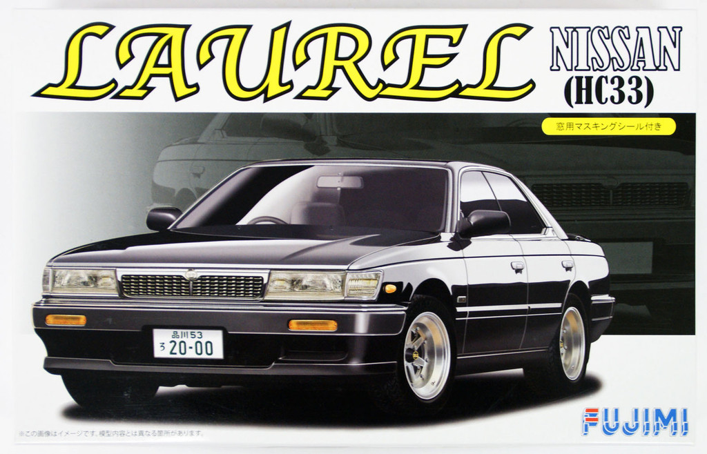 Fujimi ID-181 Nissan Laurel Medalist Club S HC33 1/24 Scale Kit