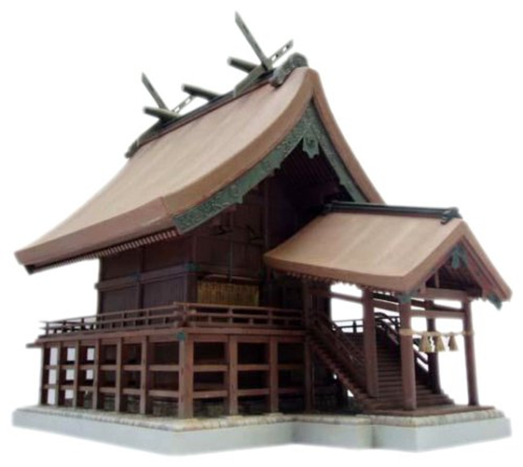 Fujimi Tatemono-9 Izumo Taisha (Izumo Grand Shrine) (Japan) 1/100 Scale Kit