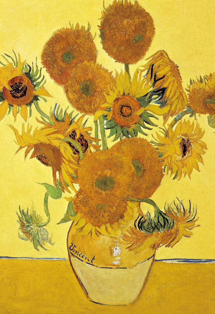 Apollo-sha Jigsaw Puzzle 47-519 Sunflower (1053 S-Pieces)