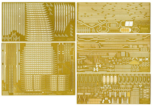 Fujimi 1/350 Gup40 Grade-Up Parts 1/350 IJN Kaga Photo Etched Parts SP2