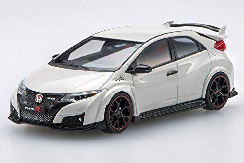 Ebbro 45352 Honda CIVIC TYPE R 2015 ChampionShip White 1/43 Scale