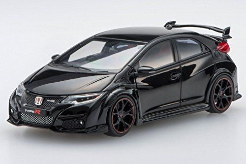 Ebbro 45353 Honda CIVIC TYPE R 2015 Crystal Black Pearl 1/43 Scale