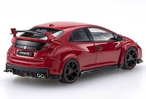 Ebbro 45354 Honda CIVIC TYPE R 2015 Milano Red 1/43 Scale