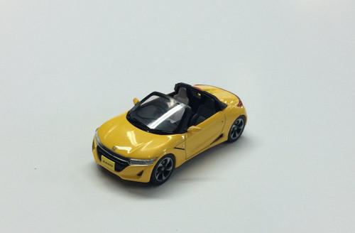 Ebbro 45358 Honda S660 YELLOW 1/43 Scale