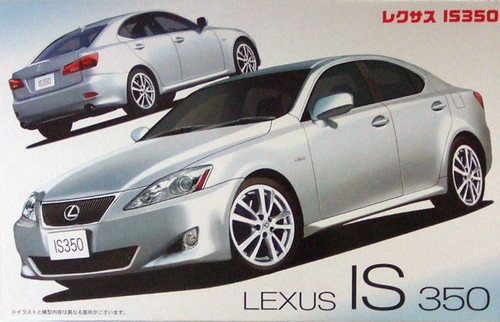 Fujimi ID-18 Lexus IS350 1/24 Scale Kit