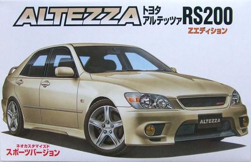 Fujimi ID-27 Toyota Altezza RS200 Sports 1/24 Scale Kit 034676