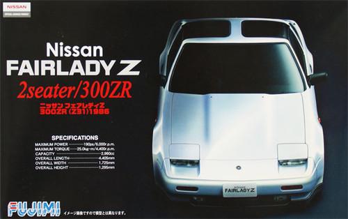 Fujimi ID-35 Nissan Fairlady Z 2 Seater 300ZR (Z31) 1986 1/24 Scale Kit