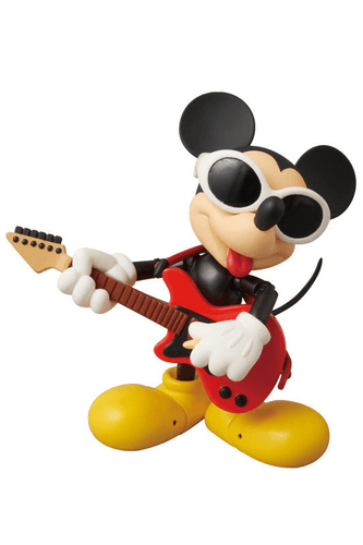 Medicom MAF-54 Miracle Action Figure Disney Mickey Mouse Grunge Rock Version