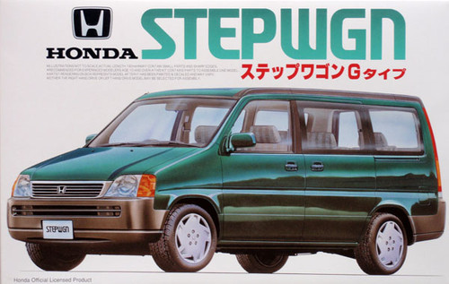Fujimi ID-58 Honda Step Wagon Type G 1996 1/24 Scale Kit 034164