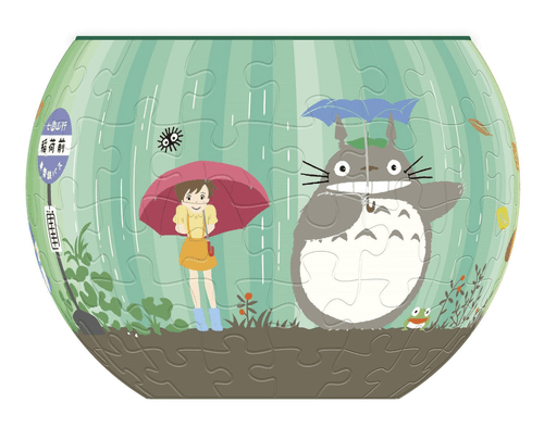 Ensky 3D Jigsaw Puzzle AT8-02 My Neighbor Totoro Ghibli World (84 Pieces)