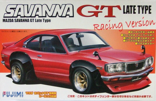Fujimi ID-109 Mazda Savanna RX-3 GT Racing 1/24 Scale Kit