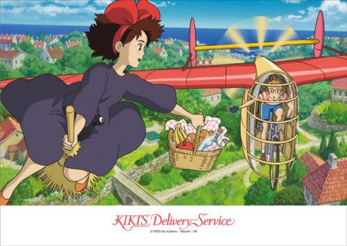 Ensky Jigsaw Puzzle 108-276 Kikis Delivery Service Studio Ghibli (108 Pieces)