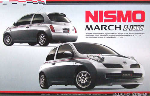 Fujimi ID-123 Nissan March Nismo S-tune 1/24 Scale Kit