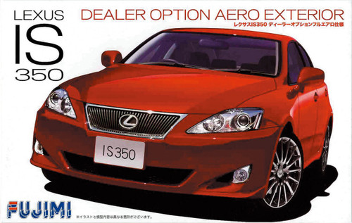 Fujimi ID-125 Lexus IS350 Aero Exterior 1/24 Scale Kit